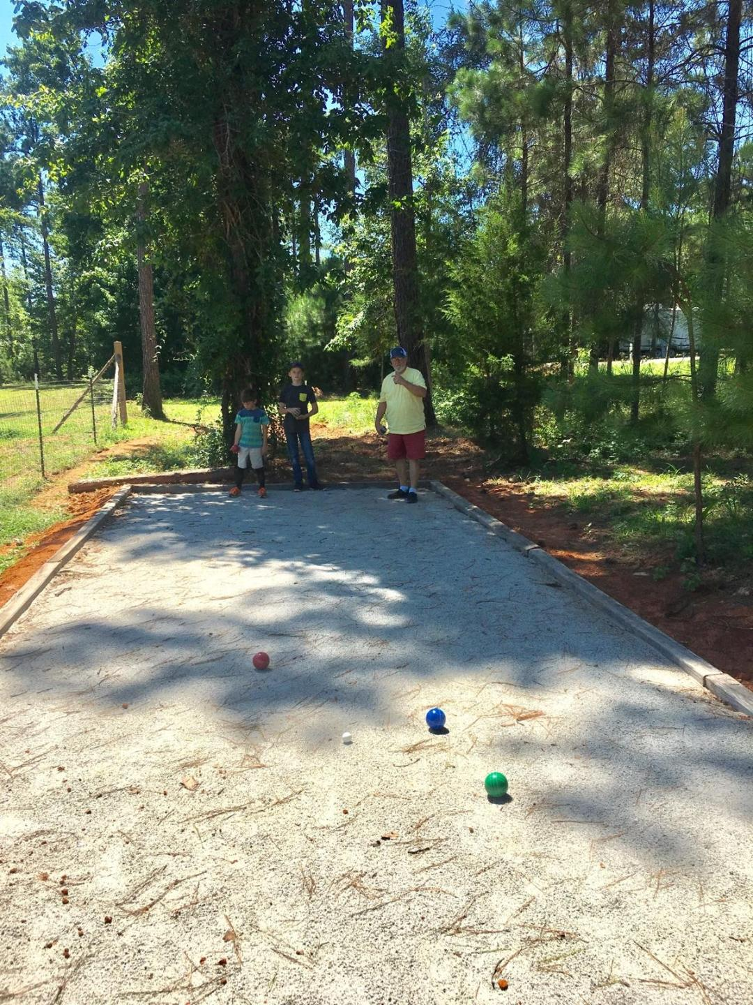 bocce/petanque ball court